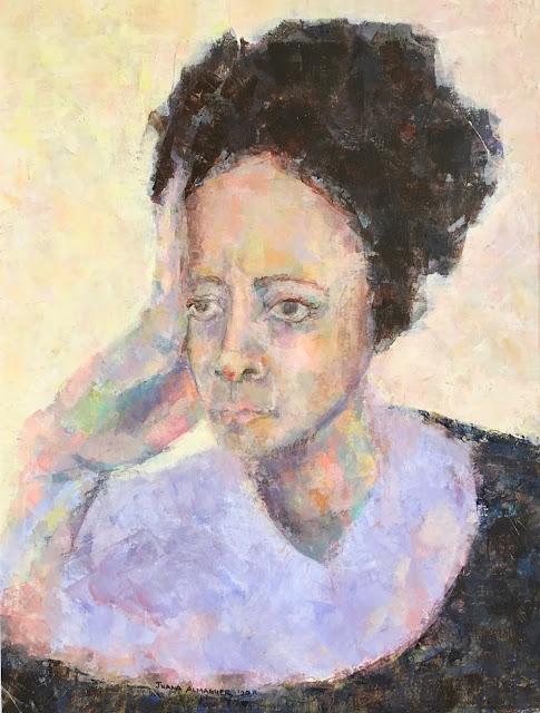 self portrait art painting