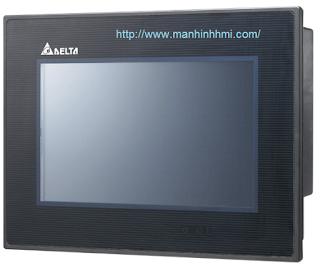 Màn hình cảm ứng HMI Delta DOP-B07S415, hỗ trợ khe cắm thẻ nhớ SD
