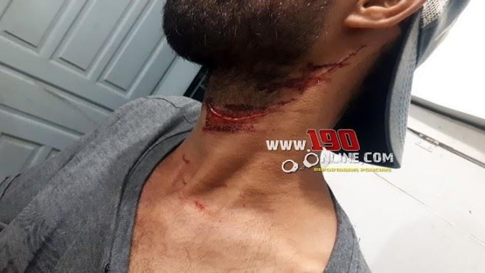 Alta Floresta – Discussão em bar acaba com homem ferido com canivete no pescoço