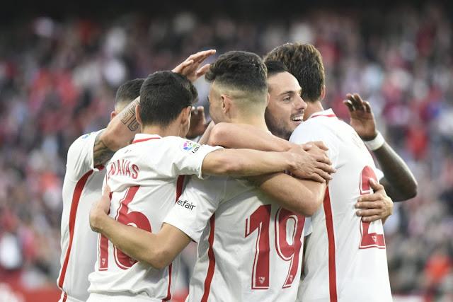 Crónica Sevilla FC 5 - Rayo Vallecano 0
