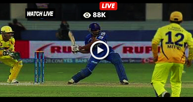 IPL 2018 RR vs CSK Live Streaming Online Cricket Scores