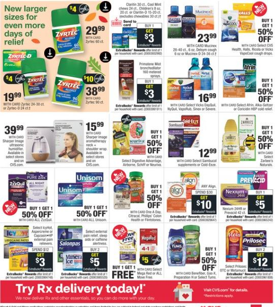 CVS Weekly Ad Preview 9/20-9/26