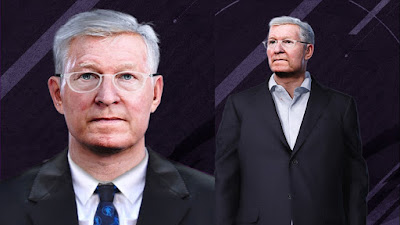 PES 2020 Faces Sir Alex Ferguson by Alief