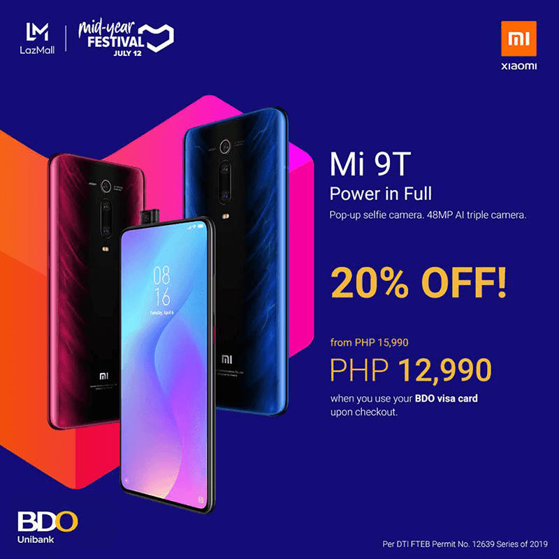 Sale Alert: Xiaomi Mi 9T to get almost 20 percent off for BDO users