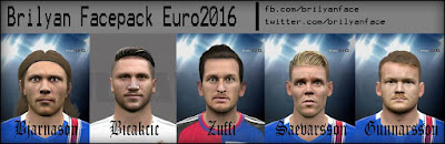 PES 2016 Facepack Euro 2016 by Brilyan