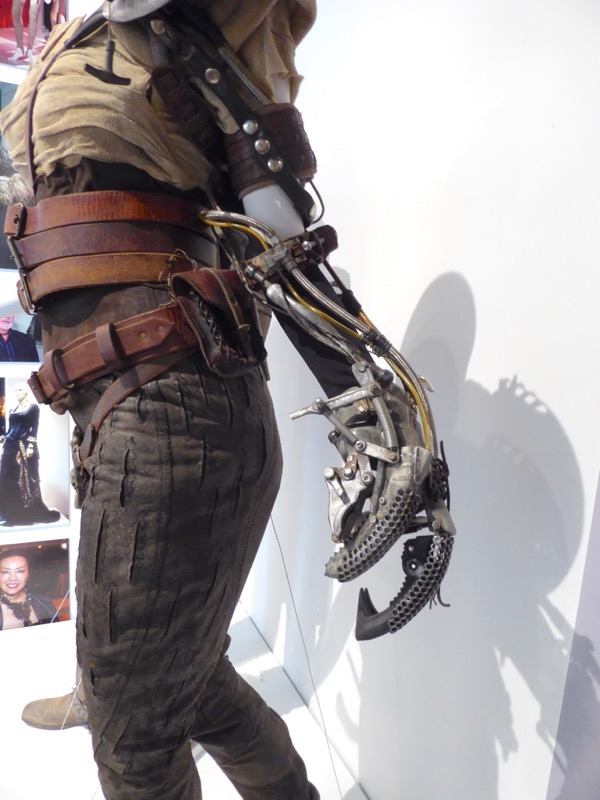 Mad Max Fury Road Furiosa mechanical arm