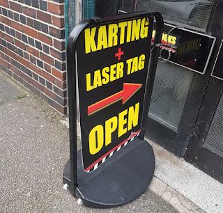 Laser Tag at Teamworks Karting in Birmingham