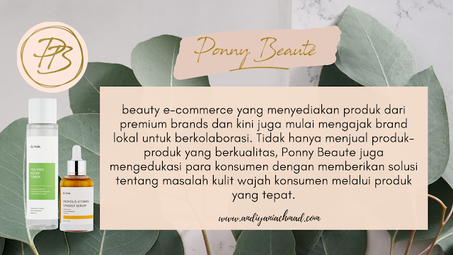 Review iUNIK Indonesia dari Ponny Beaute