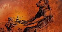No dia seguinte os habitantes da aldeia ficaram enraivecidos com um ato que interpretaram  como sacrilégio, ou um vandalismo.  Contendereis vós por Baal?