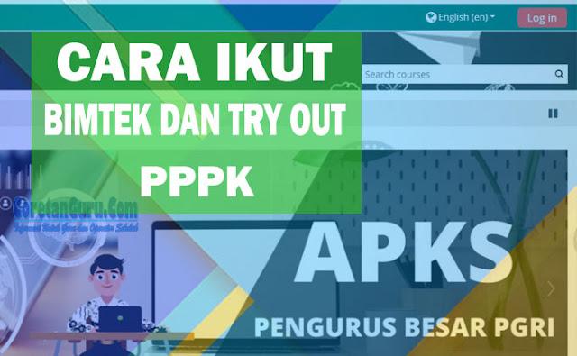 bimtek dan try out pppk pgri