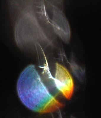orbs with diagonal stripes