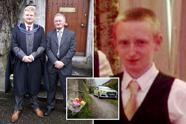 Son murdered in farm horror wrote to mom predicting dad and brother would kill him