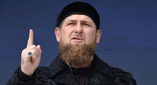 O presidente da República da Chechênia