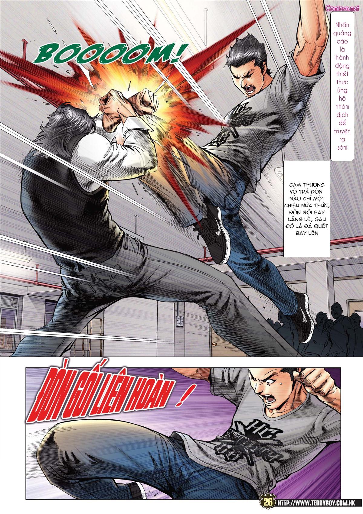 Người Trong Giang Hồ chapter 2119: nam ca vs thượng võ trang 25