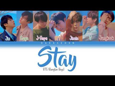 lirik lagu Stay - BTS dan terjemahannya