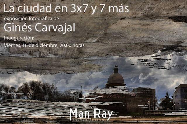 """""""La ciudad en 3x7 y 7 más"""", exposición fotográfica Ginés Carvajal"""