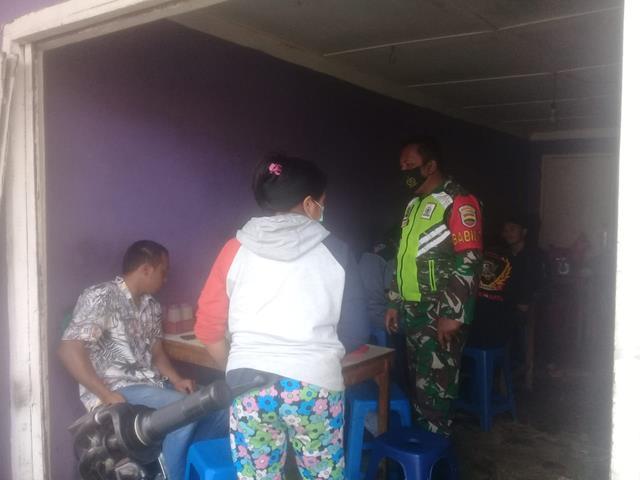 Bersama Dengan Warga Binaan, Personel Jajaran Kodim 0207/Simalungun Laksanakan Komsos