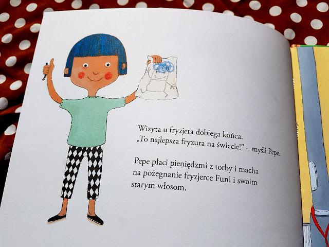 Z Pepe raźniej poznawać świat - Pepe jeździ na rowerze - Pepe leci samolotem - Pepe idzie do kina - Pepe idzie do fryzjera - Kapitan Nauka - Wydawnictwo Edgard - książki dla dzieci - Annakarin Garhamn