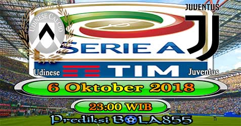 Prediksi Bola855 Udinese vs Juventus 6 Oktober 2018