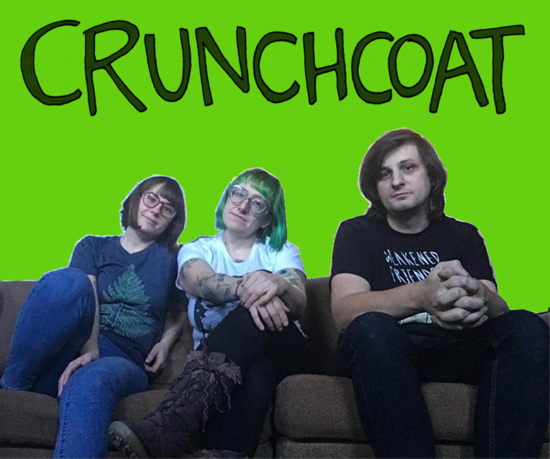 """Crunchcoat and the pop punk jammer """"TV"""" from the forthcoming EP """"Jellyfish"""""""