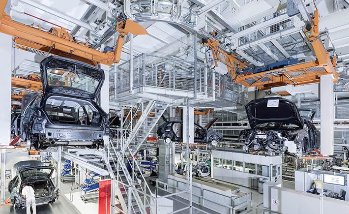El principal destino de las exportaciones mexicanas de autos es la región Tlcan. (Foto: Audi)