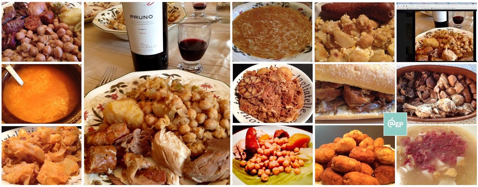 El troblogdita: La familia del Cocido madrileño