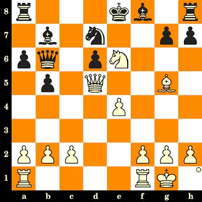 Les Blancs jouent et matent en 3 coups - Erhard Bernhoeft vs E Svedenloef, corr., 1964