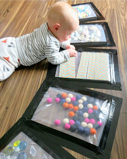 Sensory bag for baby