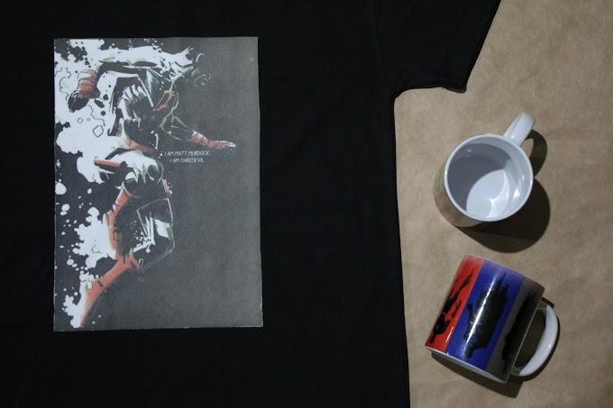 Camiseta Demolidor (DareDevil) Matt Murdock