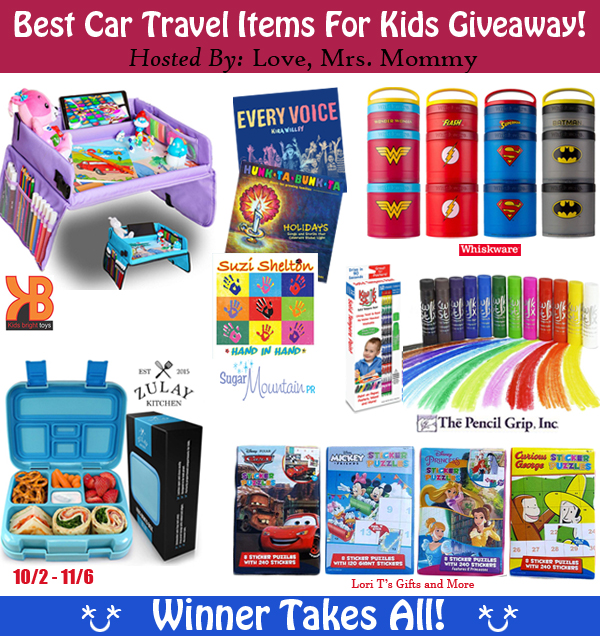 Travel Items For Kids Giveaway