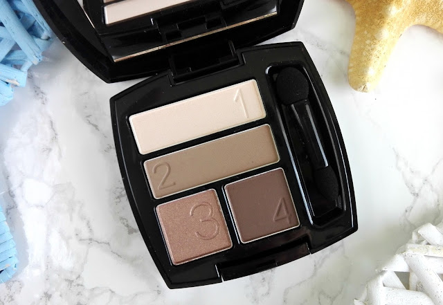 Avon True Color Eyeshadow Quad Mocha Latte