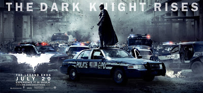 The Dark Knight Rises Theatrical Movie Banner Set 3 - Christian Bale as Batman