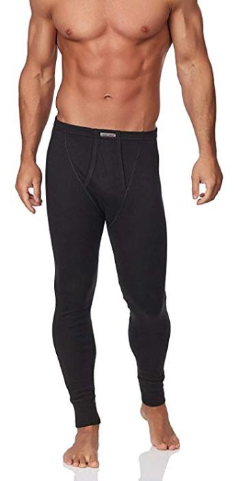 Pantaloni termici running sport in cotone Sesto Senso