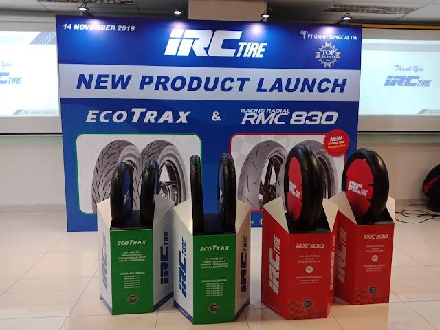 IRC Rilis ban baru, Ecotrax dan RMC830