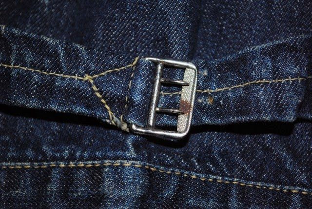 ヴィンテージリーバイス506xx 針シンチバックベルトの画像