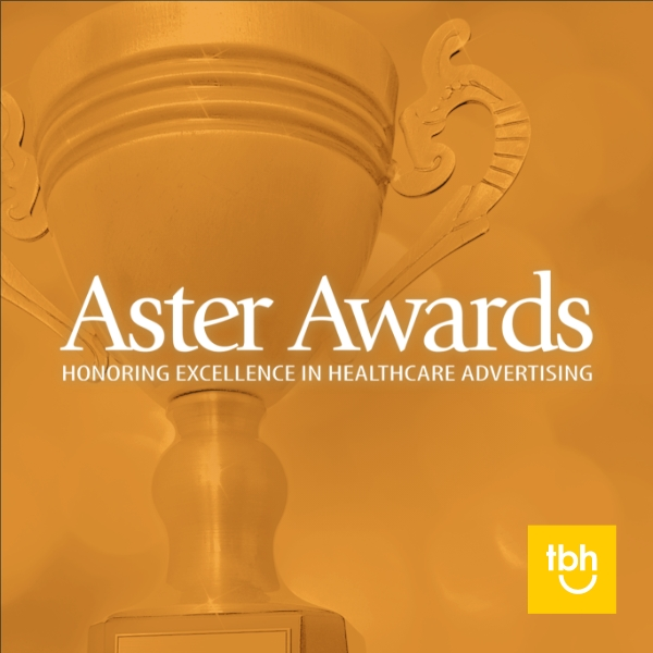 TBH Creative won six 2021 Aster Awards for excellence in healthcare web design and healthcare marketing