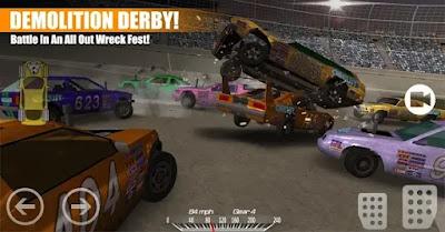 تحميل لعبة قتال السيارات Demolition Derby 3 اخر اصدرة مهكرة اموال