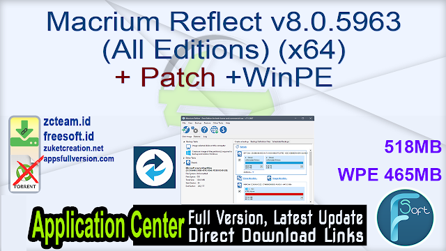 Macrium Reflect v8.0.5963 (All Editions) (x64) + Patch +WinPE_ ZcTeam.id