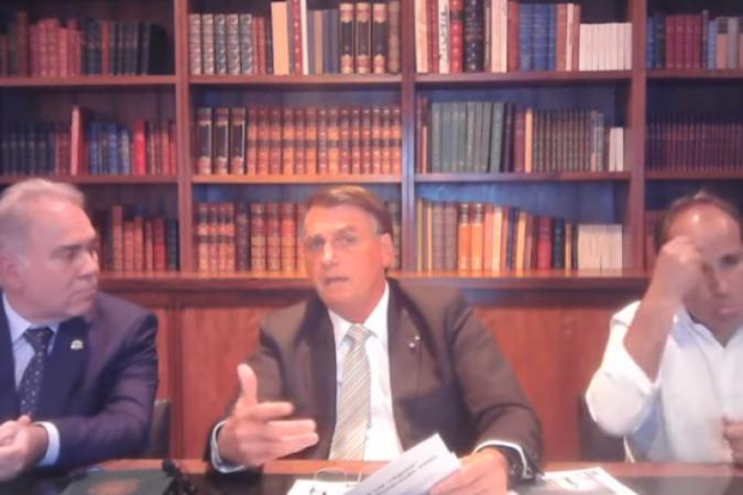 Suspender vacinação de adolescentes foi decisão de Bolsonaro, diz Queiroga
