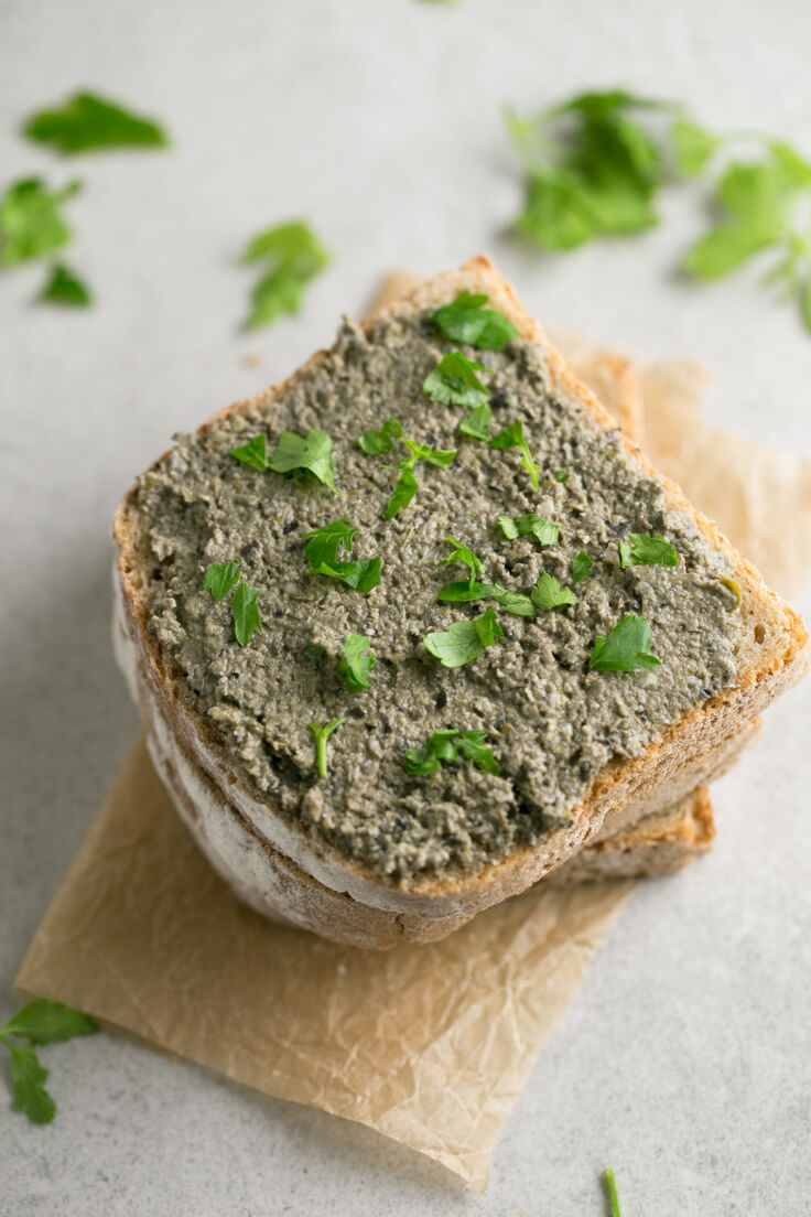 Vegan tapenade: Tapenade is a healthier appetizer or snack that takes less than 5 minutes to prepare. It is a straightforward recipe, healthy and is to die for.