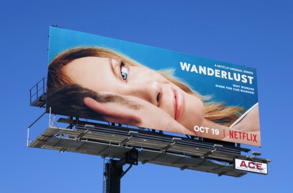 Wanderlust series launch billboard