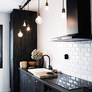 Scandinavian Style Kitchen-Hanging Color