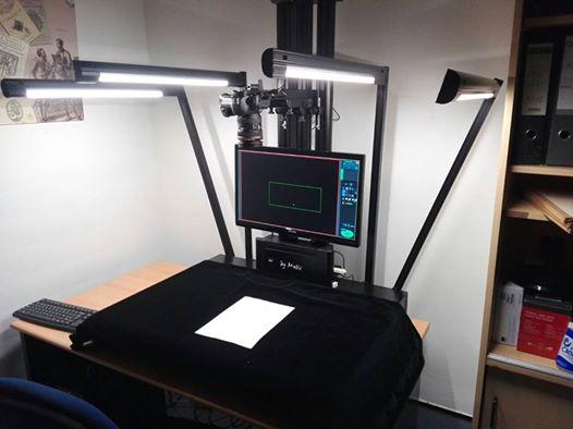 Nuevo escáner de libros a la Biblioteca General María Moliner de la Universidad de Murcia.