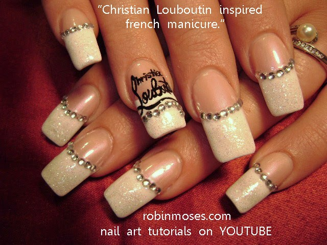 Nail Art By Robin Moses Versace Nails Versace Nail Art Gucci