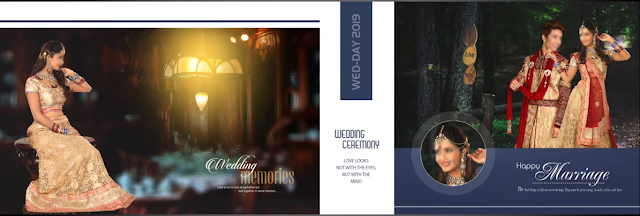 PSD Wedding Album 12x36 DM Design