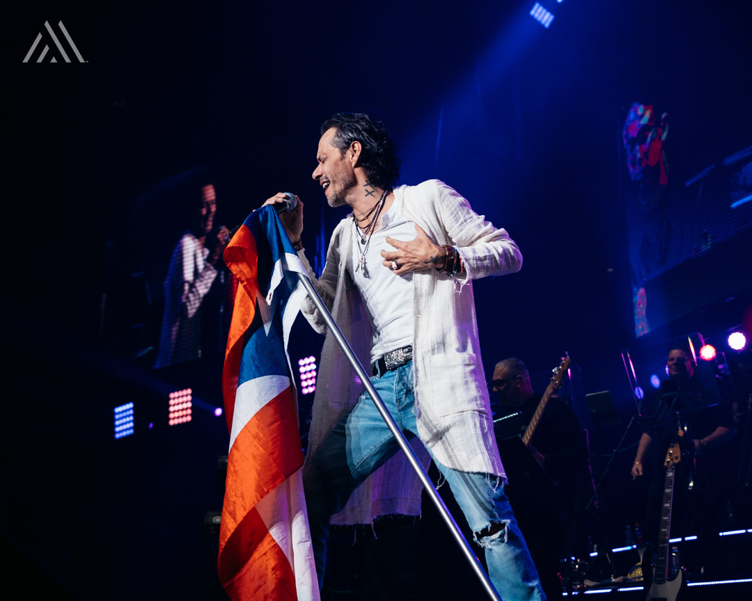 Marc Anthony livestream concert from Miami