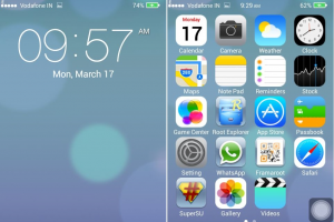 Cara Mudah Custom Rom ios 7 Deodex for Lenovo A369i