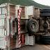 Motociclista e passageiro morrem em colisão com caminhão no Ceará
