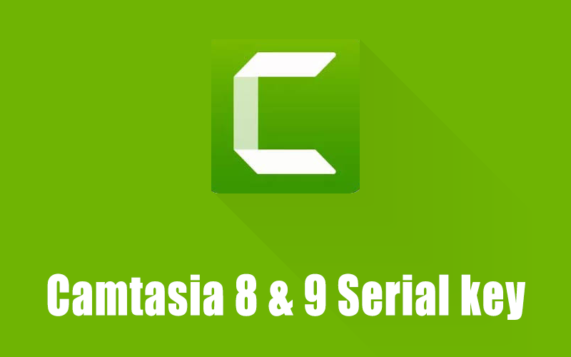 50 Serial Key for Camtasia 8 and 9