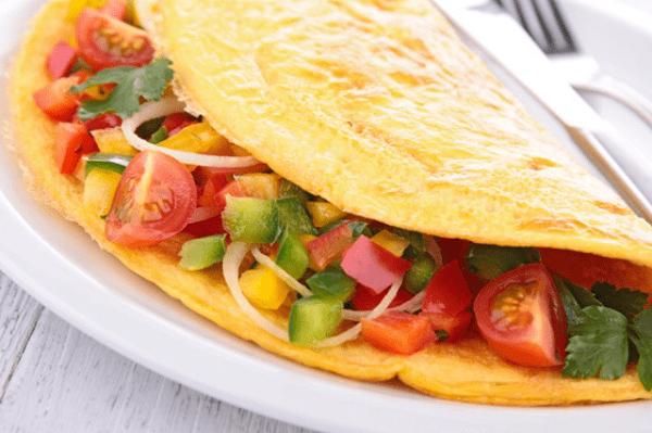 Receta de Omelette a la Mexicana
